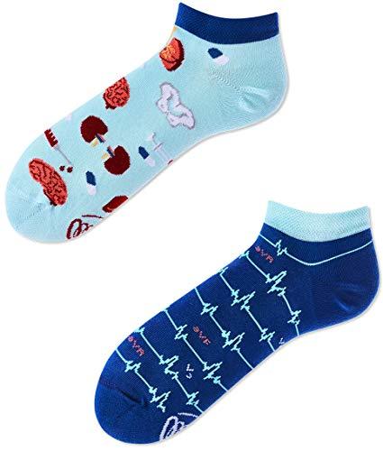 Many Mornings Socken unisex Knöchelsocken Dr Sock Low (39-42)