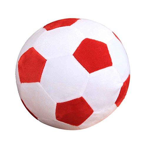 Football cartoon kussen fill Pluche baby Voetbal Sports speelgoed cadeau voor kinderen Kleine Kind