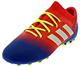 Adidas Nemeziz Messi 18.3 AG J - Botas de fútbol Unisex para Niños, Multicolor (Rojact/Plamet/Fooblu 000) 37.5 EU