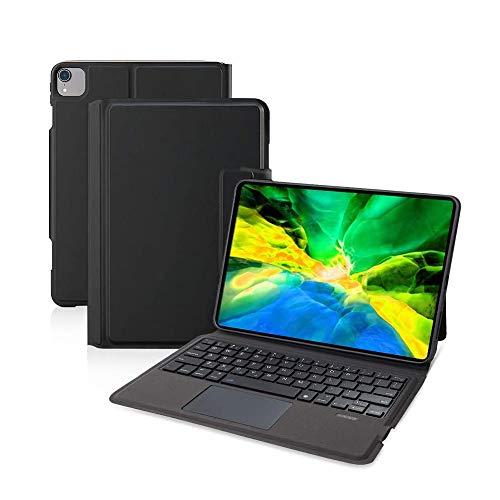 Ewin iPad Air4 10.9インチ/iPad Pro 11インチ 第1世代/第2世代/第3世代 キーボードケース iPad保護ケース タッチパッド搭載 一体式Bluetoothキーボード iPadpro11インチ第3世代対応 2021 ipad air 第4世代 2020 保護カバー 日本語説明書付き (ブラック)
