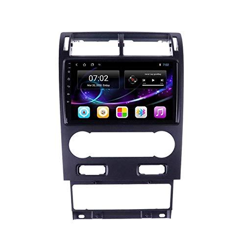 Car Stereo, Car Stereo Android 10.0 Radio para Ford Mondeo 3 2000-2007 Navegación GPS Unidad principal de 9 pulgadas Pantalla táctil HD Reproductor multimedia MP5 Video con WiFi DSP SWC Mirrorlink