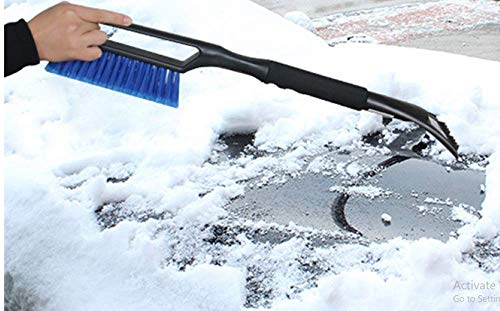 Check Out This CLASSIC Ice Scraper hot 2-in-1 Ice Scraper with Brush for Car Windshield Snow Remove ...
