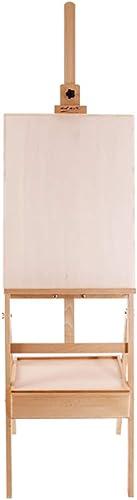 mejor vendido YXWhj Caballetes Estudio Estudio Estudio Caballete Madera Maciza Caballete Arte Arte Tablero de Dibujo Artista Bosquejo Pintura exhibición Caballete Accesorios para Sierras  Nuevos productos de artículos novedosos.