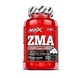 AMIX - Complemento Alimenticio - ZMA - 90 Cápsulas - Combinación de Zinc y Magnesio - Contiene Vitamina B6 - Alto Poder Anabólico - Suplemento Deportivo para Aumentar Masa Muscular