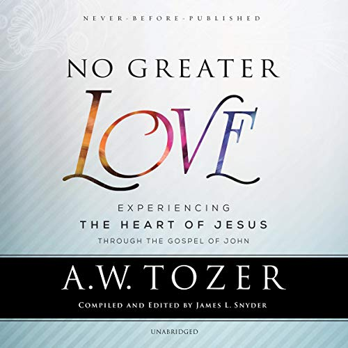 No Greater Love  By  cover art