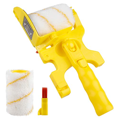 XT Pole Mountable Paint Edger,Roller Paint Brush with Roller and Adjustable Brush Jumbo Kit for House or Commercial Use