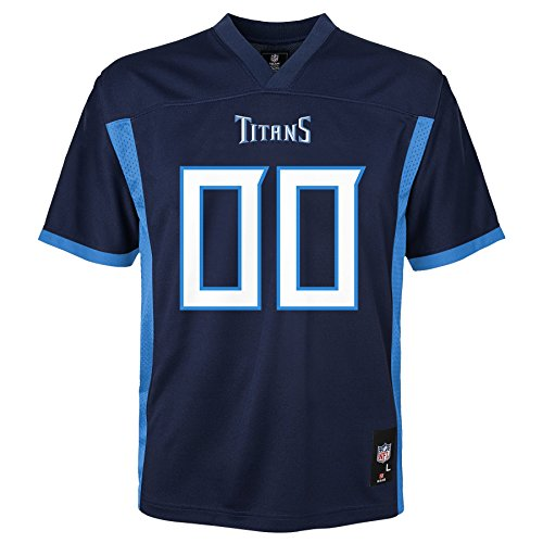 NFL Kids & Youth Team Color Fashion Jersey, Tennessee Titans, Kids Large(7)