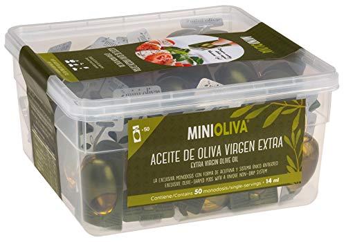Aceite Y Vinagre Monodosis En Una Botella aceite y vinagre monodosis  Marca MINIOLIVA