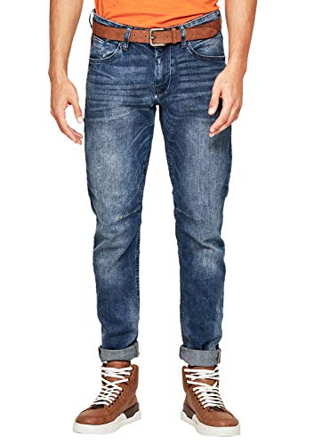 s.Oliver Herren Hose Regular Straight Jeans, Blau (Blue Denim Stretch 54z4), W31/L30