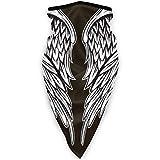 Hao-shop Diadema Banbana, Alas Espalda Tatuaje Multifuncional Magia Motocicleta Sombreros Media Cara Cara Bufanda Cuello Cubierta