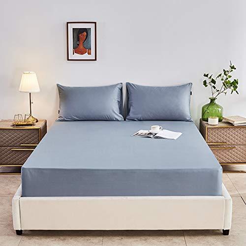 haiba Spannbettlaken 100% Baumwolle Jersey Spannbetttuch Bettlaken Betttuch,180x200CM