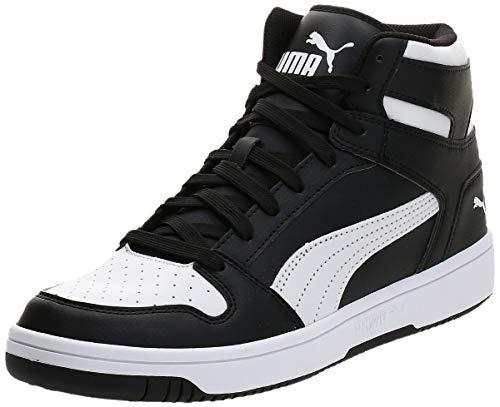 PUMA Rebound Layup Sl, Baskets Mixte Adulte, Noir (Puma Black-Puma White 01),(40.5 EU)