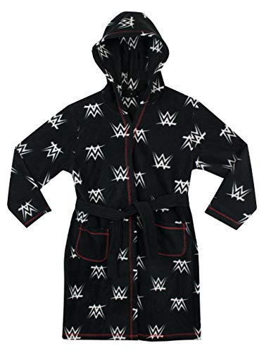 WWE Boys' Wrestling Robe Black 8