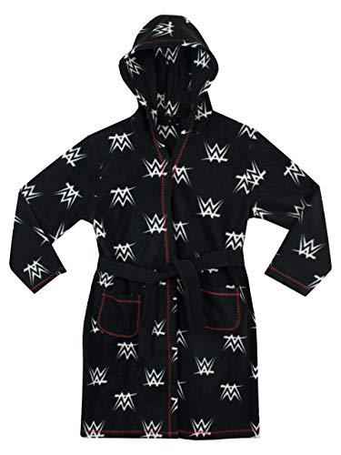 WWE Boys' Wrestling Robe Black 12