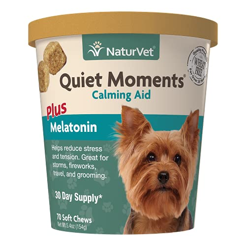 NaturVet Quiet Moments Calming Aid Dog Supplement