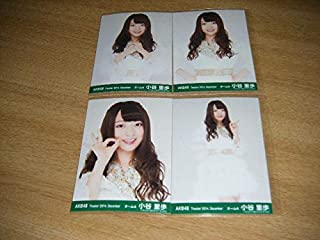 AKB48月別 生写真 2014 December 12月 小谷里歩 4枚