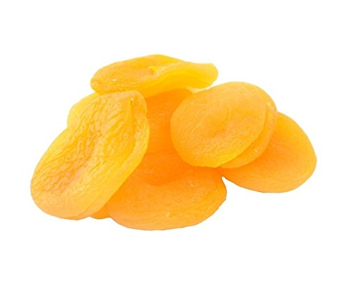 Anna and Sarah Dried Turkish Apricots in Resealable Bag, Healthy Nutritious Snacks for Kids, Adults, No Sugar Added, Non-GMO, Vegan, Gluten Free (1 Lb)