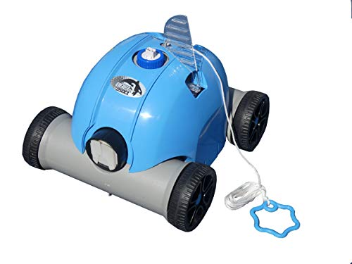 EDENEA Orca O50 CL - Robot Electrique sans Fil pour Piscine et Spa (Fond Plat) - Nettoyage Fond - Autonome - Compatible Tout Revêtement - Filtration par Tamis