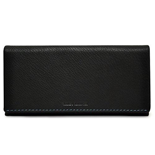 [タケオキクチ] 長財布 テネーロ メンズ 1710019 【01】ブラック