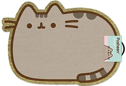 Pyramid International Felpudo Pusheen el Gato, Vinilo, Varios Colores, 40 x 57 x 1.3 cm