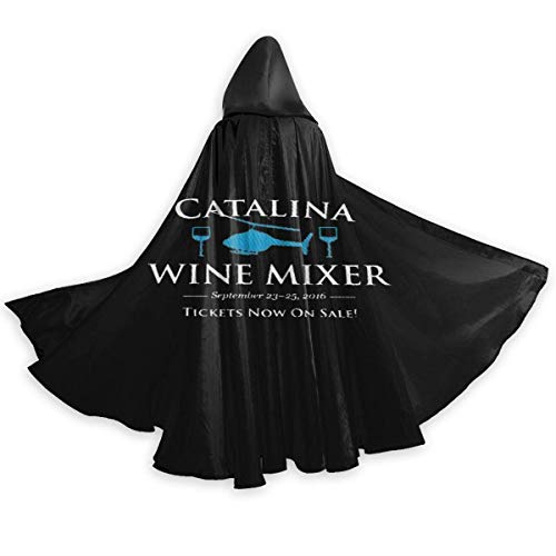 Amanda Walter Capa para Adultos para Halloweenn Catalina Mezclador de Vino Anual Unisex Bata Larga Disfraz de Halloween Capa Uniforme Capa CLK-356