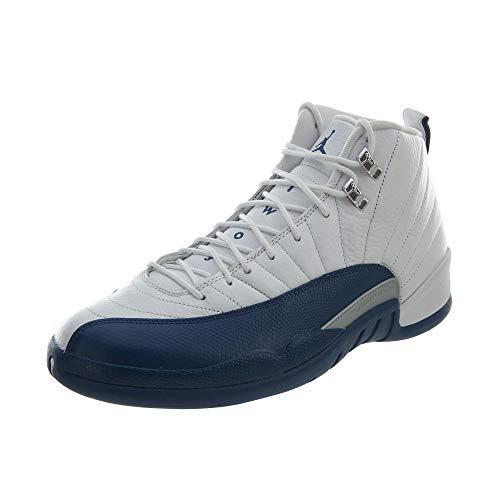 Nike Air Jordan 12 Retro, Zapatillas de Baloncesto para Hombre, Gris/Negro (Dark Grey/Dark Grey-Black), 42 1/2 EU