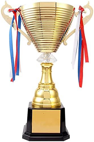 DHTOMC Juego de torneo premios Trofeos para trofeo de baloncesto deportivo Trofeo de metal para torneos deportivos competiciones fiestas 32cm-32cm