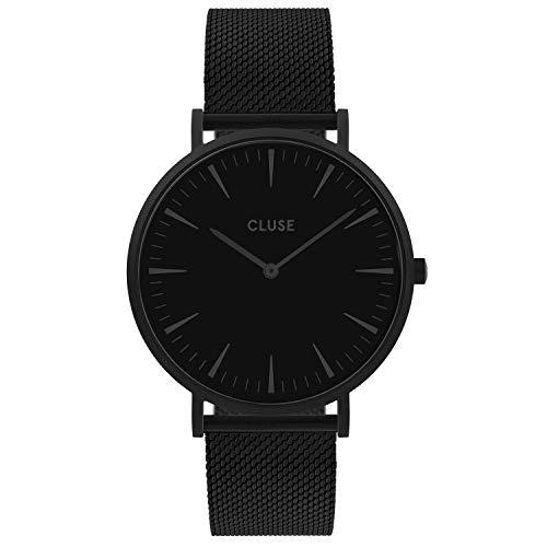 CLUSE dames analoog kwarts horloge met roestvrij stalen armband CW0101201005