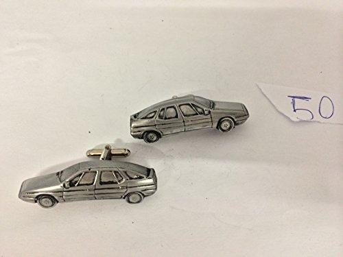 Citroen XM 3D cufflinks classic car pewter effect cufflinks ref50