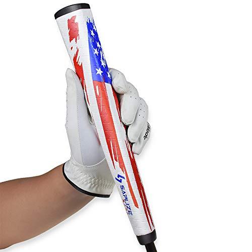 SAPLIZE Putter Grip, Midsize Golf Club Grip, MAGA Series, Iron Wood Grips, Pistol V2