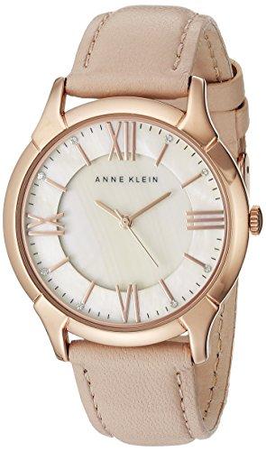 Anne Klein Women's AK/1010RGLP Premium Crystal Accented Rose Gold-Tone...