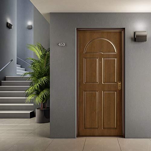 Porta blindata ingresso Argo 900x2100 sx colore Noce Gold/Bianco Di.Bi. Porte Blindate srl
