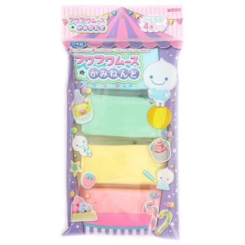 Argile paperclay Fuwa Fuwa pour deco-den 4 couleurs