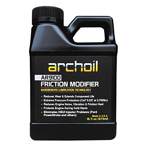 Archoil AR9100 Oil Additive (16oz) for All Vehicles - Powerstroke Cold Starts, Eliminates Injector...
