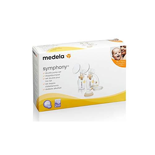 Medela - Sacaleches Set Recolección Doble Symphony M 24Mm Pfit Plus En Es Pt El He