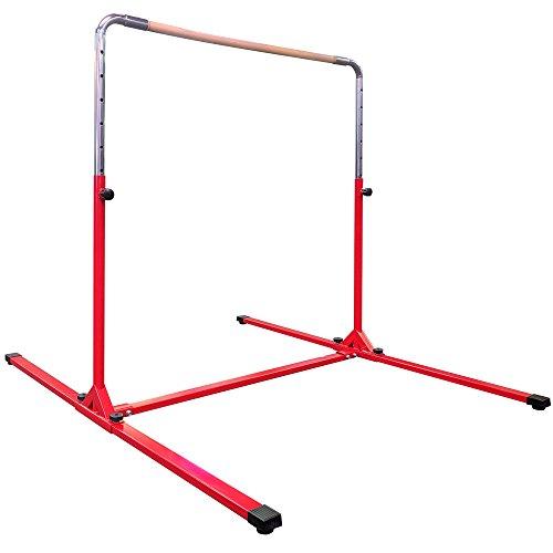 Titan Fitness Adjustable Jr. Kip Bar, Horizontal Bar, Gymnastics Equipment for Kids