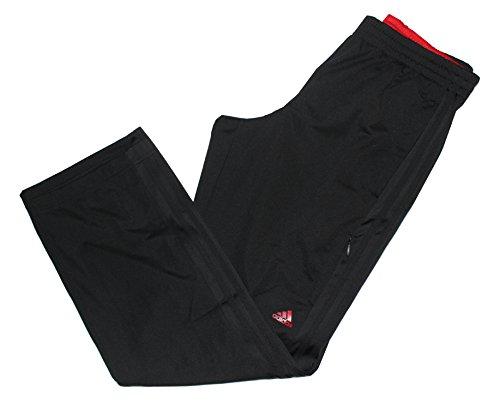 adidas Men's Weekender Athletic Training Pants, Black/Scarlet, X-Large