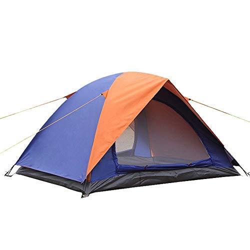 Campingtent in de open lucht, regenbestendig tent strand dubbel toerisme, familiebijeenkomstent