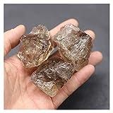 YSJJDRT Cristallo Naturale Grezzo Natural Smoky Crystal Quartz Stone Guida Campione Minerale Decorazione della casa o Decorazione del Giardino Acquario (Farbe : Smoky Crystal, Größe : 35-40g (1pack))