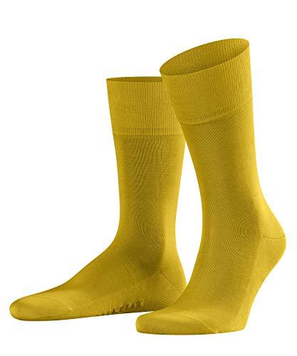 FALKE Herren Socken, Tiago M SO-14662, 1er Pack,Gelb (Deep Yellow 1007), 45-46