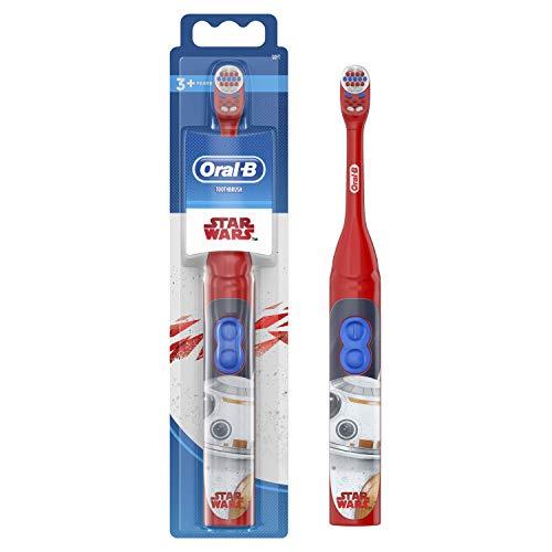 Oral-B Cepillo de dientes eléctrico de batería con personajes de Star Wars...