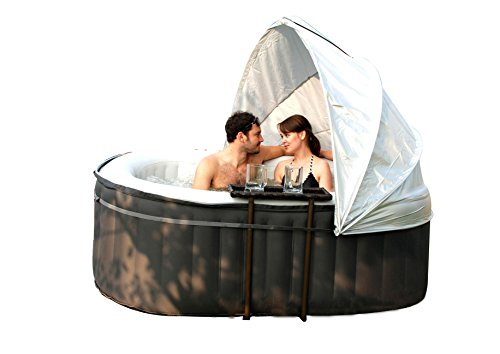 MSPA Inflatable Canopy Hot Tub Accessories One Size Fit Spa 180CM, Coloured