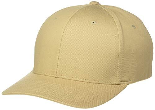 Flexfit 6277 Wooly Combed Twill Cap Khaki