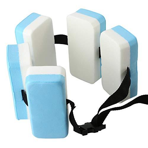 Tbest Flotador de Natación Cinturón EVA Auxiliar Entrenamiento de Natación Cinturón Flotante Ayuda de Entrenamiento Cinturón Cintura Cinturón de Soporte de Seguridad para Niños Adultos