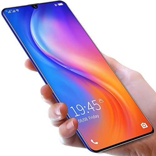 Teléfono móvil SIM gratis desbloqueado, Android 10, teléfonos inteligentes 4G con doble SIM, pantalla de 6.5 pulgadas, tres ranuras para tarjetas, teléfonos móviles con cámara trasera cuádruple de 2