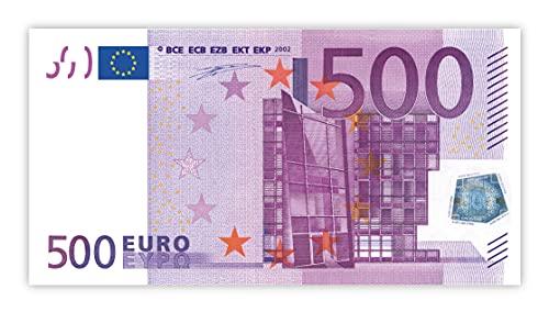 Litfax 500€ Euroschein/Euro-Geldscheine 203x103 mm/banderoliert, je Pack. 75 Stück (1 PG)