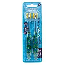 4. OOAK Kids Dinosaur Toothbrush (2 Pack)