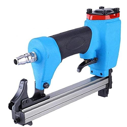 Sanfiyya Aire Pin Clavadora Grapadora neumática 1013J 10-30mm Clavo de la Herramienta eléctrica para Trabajar la Madera Mueble de casa