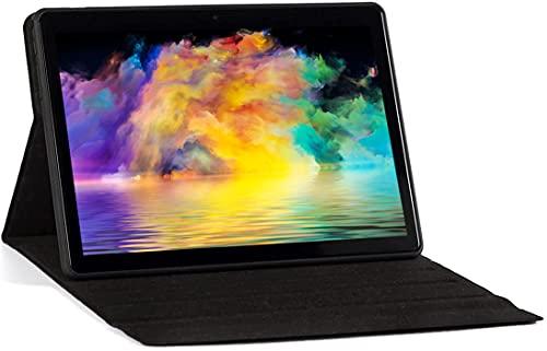Tableta de 10 Pulgadas,  Android 10,  Tableta con CPU de Cuatro núcleos,  4 GB de RAM,  64 GB de ROM,  Pantalla IPS HD (1280x800),  Tipo C,  WiFi/GPS/Bluetooth 4.0. (Gris)