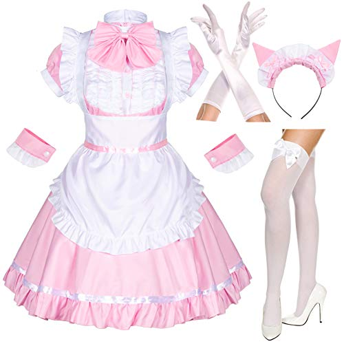 Japanese Anime Maid Cosplay Set